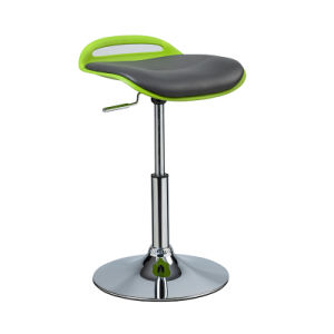 Fashion Coffee Club Adjustable Height Swivel Soft PU Bar Chair (FS-PB006) pictures & photos