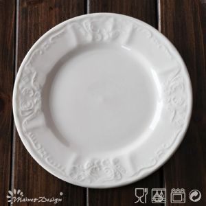 16PCS Embossed Ceramic Porcelain Dinner Set pictures & photos