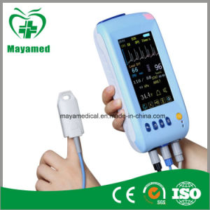 My-C001 Color Handheld Multi-Parameter Touch Screen Patient Monitor pictures & photos