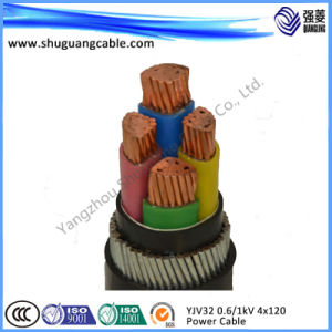 Fireproof XLPE Insulation PVC Sheath Swa Electric Power Cable pictures & photos