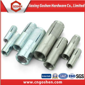 Galvanized Carbon Steel Drop in Anchor M8, Fastener Anchors pictures & photos