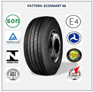 385/55r22.5 (ECOSMART 66) with Europe Certificate (ECE REACH LABEL) High Quality Truck & Bus Radial Tires pictures & photos