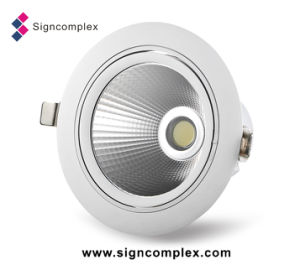 "Signcomplex Rotatable Hot Sale 25W 6"" COB LED Downlight with Ce RoHS pictures & photos"
