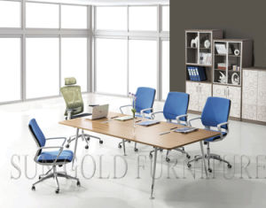 Conference Table Metal Foot Boardroom Table (SZ-MTA1007) pictures & photos