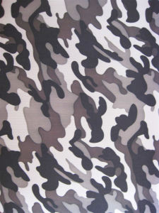Fy-26 600d Oxford Printing Camouflage Polyester Fabric pictures & photos