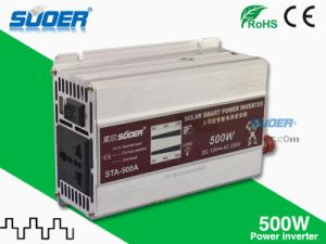 Suoer 500W Power Inverter 12V to 220V Inverter (STA-500A) pictures & photos