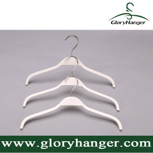 Home Use White Plywood Hanger with Matel Hook pictures & photos