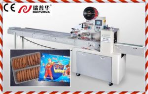 Pillow Type Biscuit/Cookies/Bread/Cake/Chocolate/Swiss Roll/Mooncake/Dorayaki/ Cracker/Rice Bar/French Bread (buns) Packaging Machine (ZP-100 Series) pictures & photos