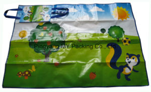 Recycled Cheap Outdoor Waterproof Promotional PP Woven Beach Mat pictures & photos