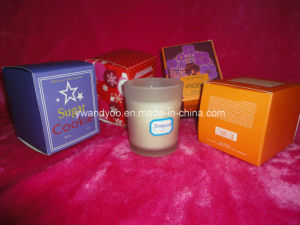 Pomegranate Scented Organic Soy Wax Gift Candle pictures & photos
