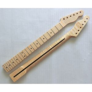DIY Finished One Piece Flamed Maple Tele Guitar Neck Replacement pictures & photos