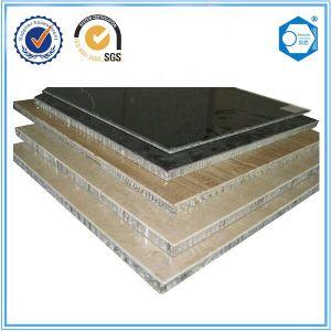 Natural Stone Fiberglass Aluminium Honeycomb Composite Panel pictures & photos