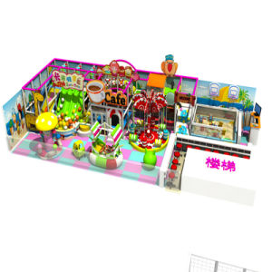 Candy Theme Funny Indoor Soft Playground for Shop pictures & photos