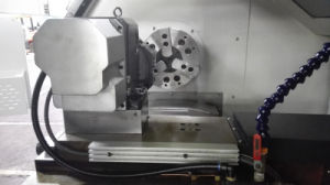 Easy Operation High Performance CNC Lathe with Bar Feeder Auto Feeder pictures & photos