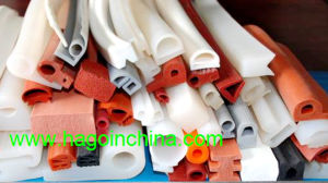 Colorful Non-Toxic Silicone Rubber Strip pictures & photos