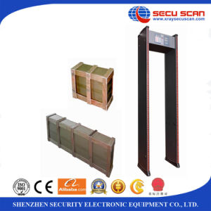 Door Frame Walk Through Metal Detector AT-IIIC 18 zones body Scanner pictures & photos