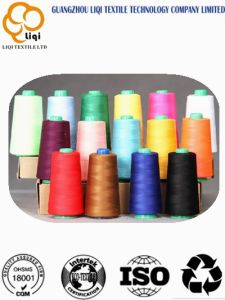 Dyed Colors 100% Polyester Spun Sewing Yarn pictures & photos