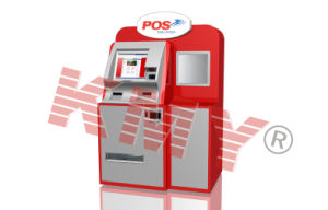 Touchscreen Automatic Parcel Delivery Kiosk Design pictures & photos
