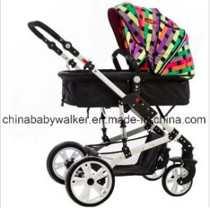 661-8 Color Grid Baby Stroller pictures & photos