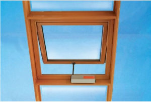 Double Glass Aluminum Top Hung Windows