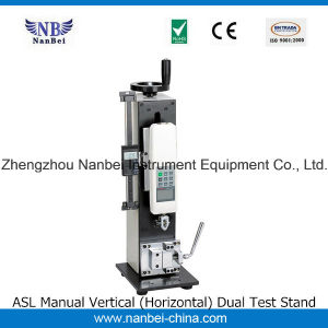 Nanbei Brand Amh Manual Horizontal Test Stand pictures & photos