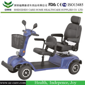 4 Wheel Handicapped 2 Seat Electric Mobility Scooter