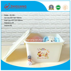 40L Storage Stackable Plastic Box with Lid for Packaging pictures & photos