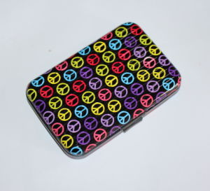 Heat Stamp Logo Printed Aluminum Credit Card Holder (MW21008) pictures & photos