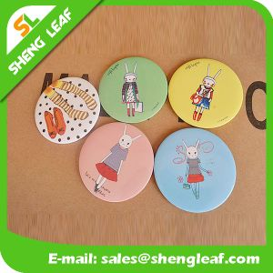 Household Single Face Tin Round Make up Mini Mirror Products pictures & photos