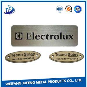 Aluminum Mould Machining Stamping Decal Printing White Ceramic Name Plates pictures & photos