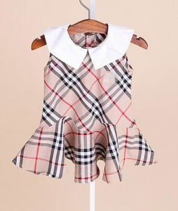Classic British Wind Clothes Children Dress in Fashion Frocks pictures & photos