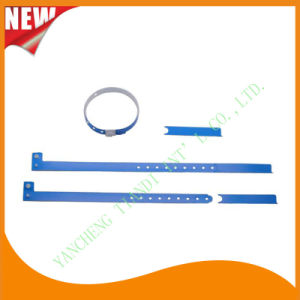 Hospital Plastic Wristband with Tail (8060-2) pictures & photos