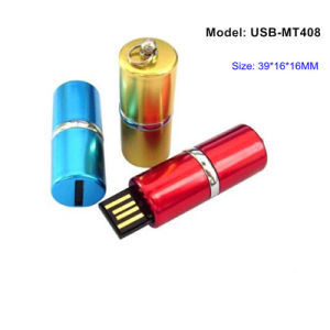 Battery Shape USB Flash Drive 8GB (USB-MT408)