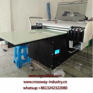 900mm Flatbed UV Printer for Acrylic Glass Wood PVC Direct Printing