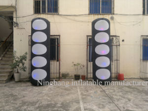 Outdoor Decoration LED Light Inflatable Pillar Inflatable Column for Event