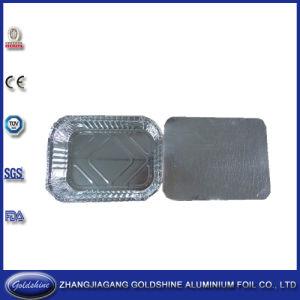 Aluminum Material 3 Compartment Aluminum Foil Container Three Zone pictures & photos