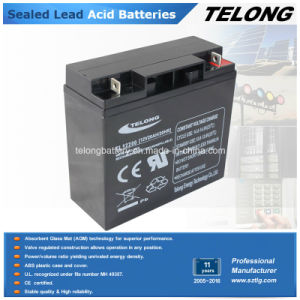 Deep Cycle Electric Car Battery UPS Battery (12V20AH) pictures & photos
