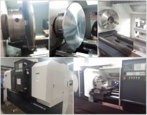 Heavy Duty CNC Lathe with 8/10/12 Turrets pictures & photos