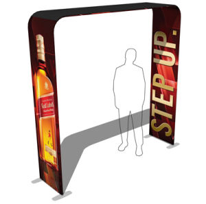 Portable Fabric Arch Banner Sign Exhibition Booth Display Stand pictures & photos