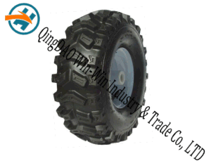 "Pneumatic Rubber Wheel Used on Alloy Wheel (15""X6.00-6) pictures & photos"