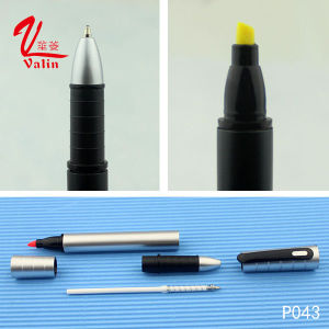 Newest Designed Smooth Writing Plastic Highlighter Pen pictures & photos