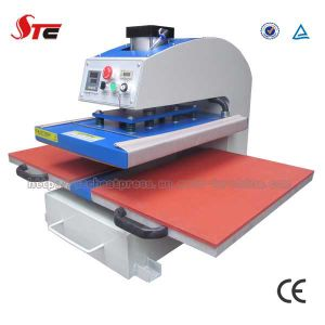 CE Approved 40X60cm Automatic Pneumatic Double Station Heat Press Machine pictures & photos