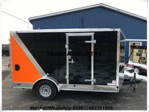 Transport Trolley Automatic Stall Kebab Catering Cart Hot Dog Snack Cart pictures & photos