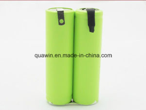 2s 2.4V 1800mAh AA NiMH Battery Pack pictures & photos