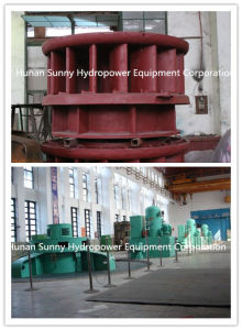 Vertical Propeller Hydro (Water) Turbine-Generator 200~3500 Small Capacity / Hydropower / Hydroturbine pictures & photos