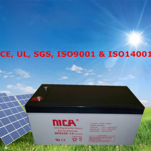 Gel Deep Cycle Battery 12V Battery Gel 155ah pictures & photos