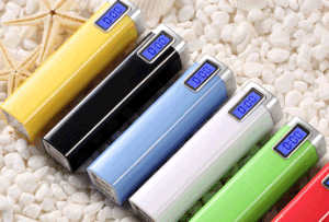 The Classical Metal Power Bank with Digital Display pictures & photos