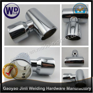 Shower Round Tube Support Bar Bracket Wt-6635 pictures & photos