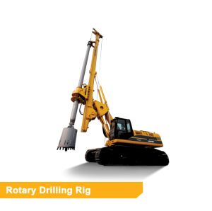 Foton Lovol 10 Ton Rotary Drilling Rig Machine FR610C with Original Cat Chassis pictures & photos