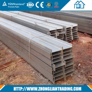 Standard Sizes Wide Flange Structural Used Iron Steel H Beam Price pictures & photos